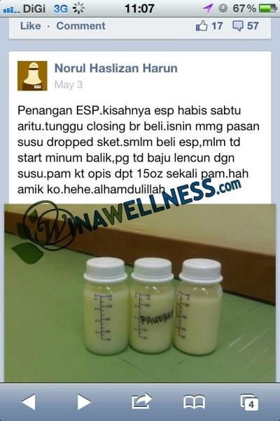 ESP meningkatkan jumlah penghasilan susu