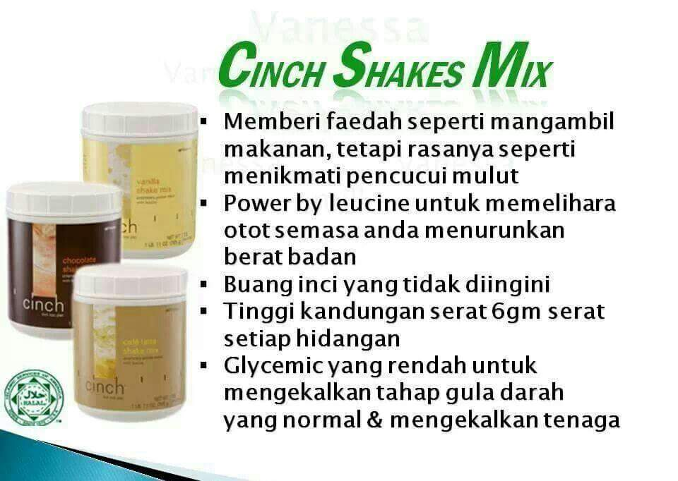 Image result for CINCH SHAKE SHAKLEE