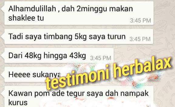 testimoni herblax