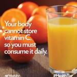 Shaklee Penang : Vitamin C Shaklee Untuk Imunisasi
