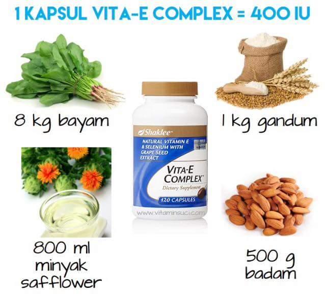 Vitamin E Shaklee Untuk Cantik Dan Intim