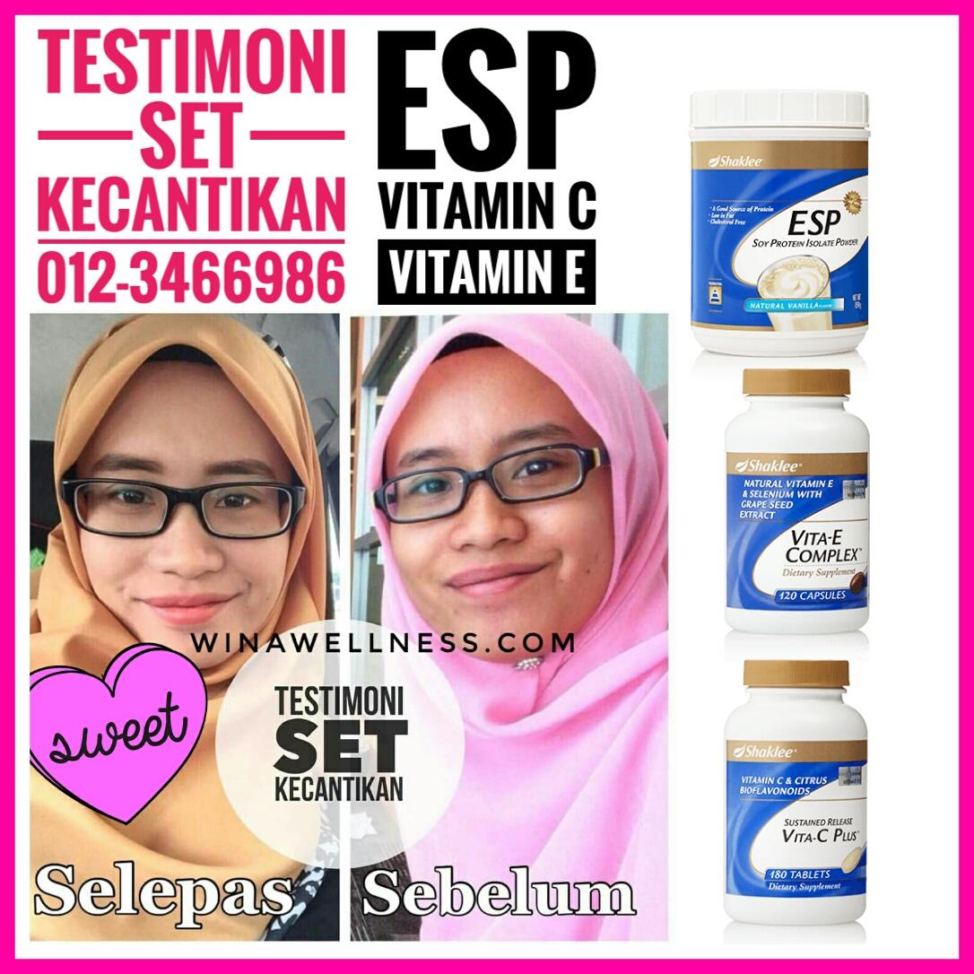 Testimoni ESP untuk Kecantikan Kulit (Tona Kulit Lebih Cerah Sekata)