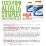 Testimoni Alfalfa Complex Shaklee Paling Berkesan