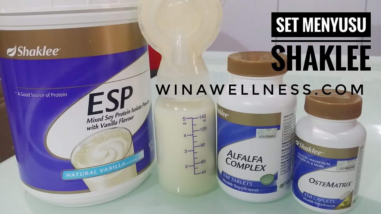 Testimoni ESP untuk Ibu Menyusu(ESP pekatkan susu)