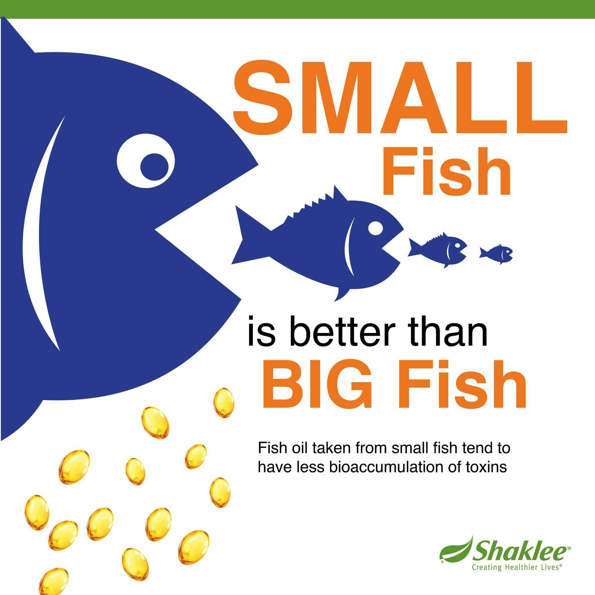 Minyak ikan omega 3 Shaklee