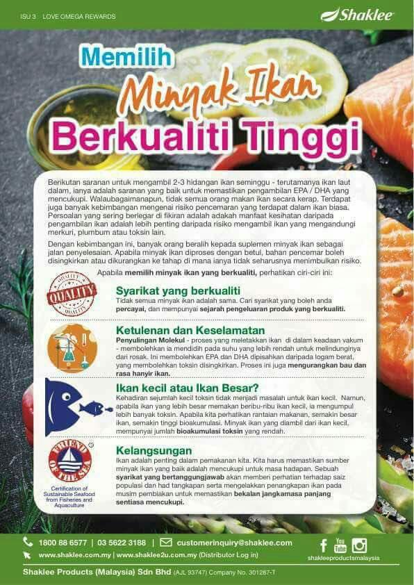 Tips Memilih Minyak Ikan Terbaik