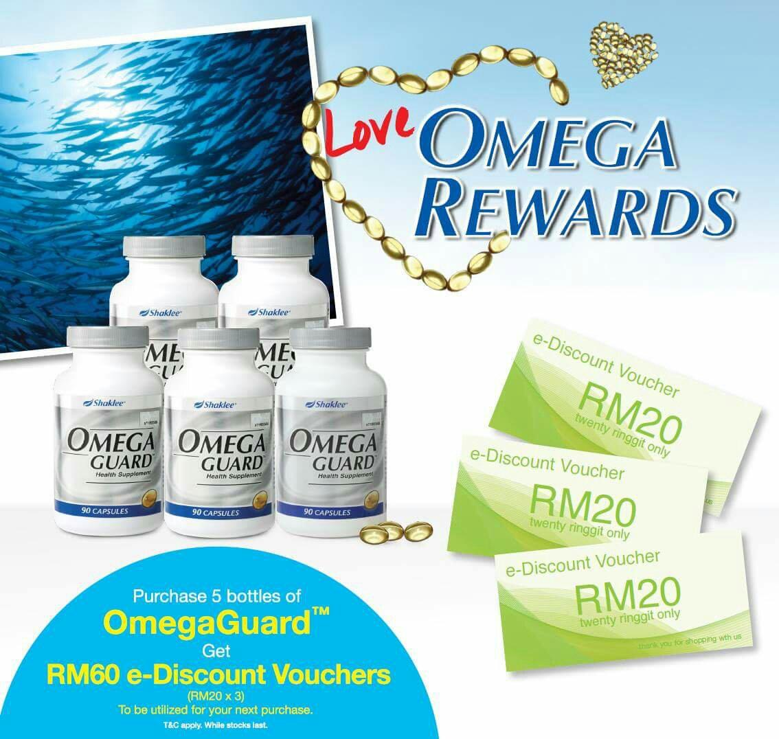 Omega Shaklee Murah