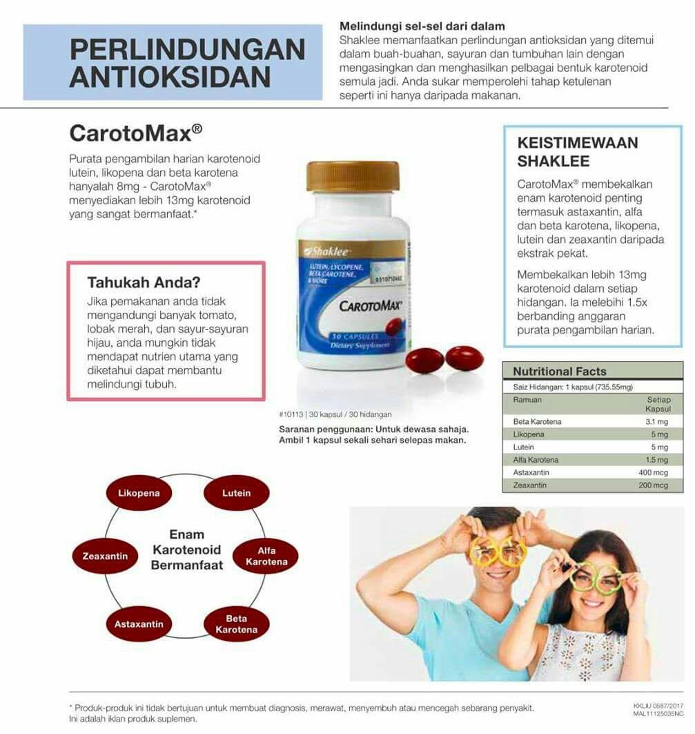 Tips memilih antioksida terbaik